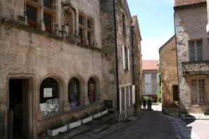 street, Flavigny-sur-Ozerain