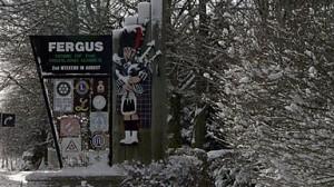 Fergus in winter