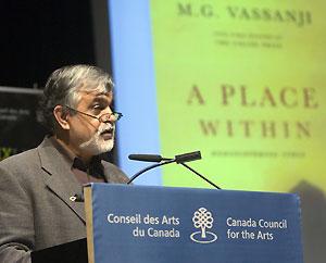 Vassanji receives GG