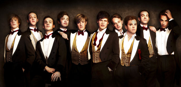 the cast of Posh the play