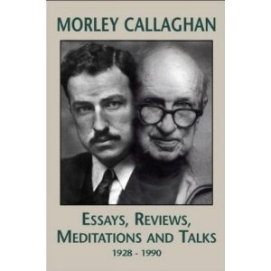 cover of Callaghan essays