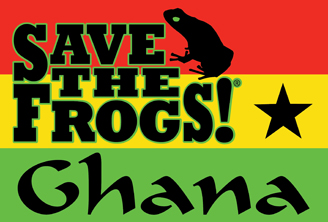 Save the frogs campaign logo