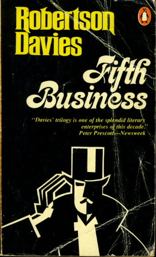 book cover Fifth Business