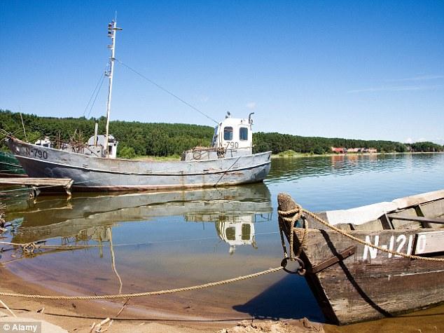 boats near Preilan