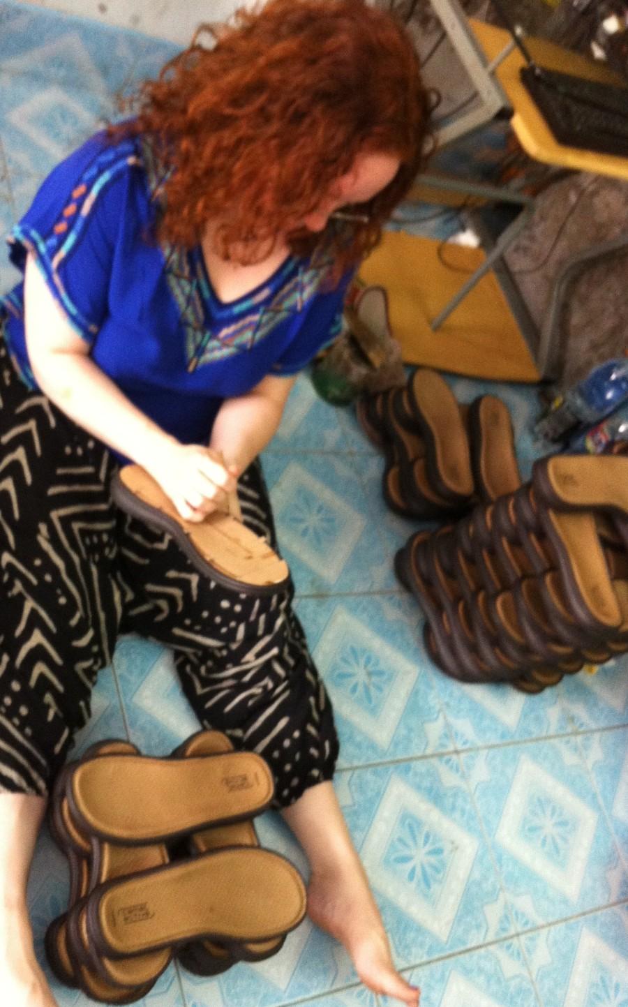 Shoemaker's workshop
