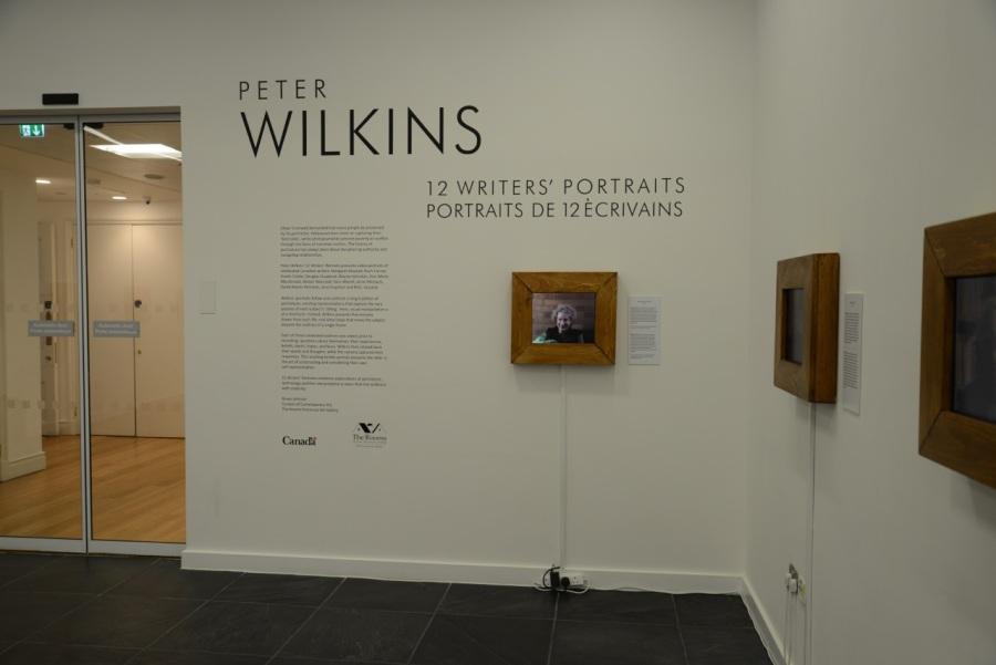 Wilkins' exhibition Canada House