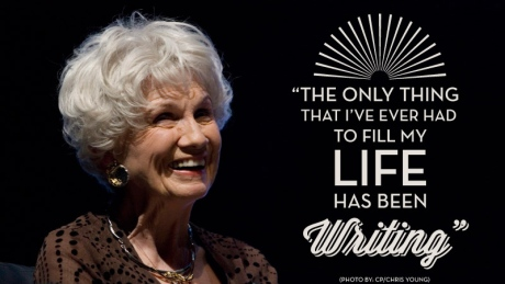 Alice Munro October 2013 (CBC)