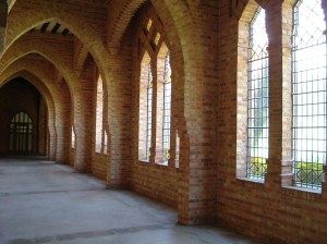 Cloister (Quarr Abbey website)