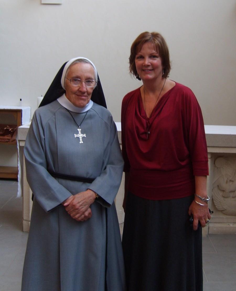 Jane Christmas and Sister Anita