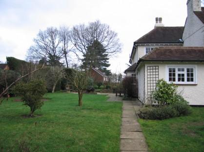garden of Elm Cottage