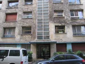 Mavis Gallant's apartment building in Paris