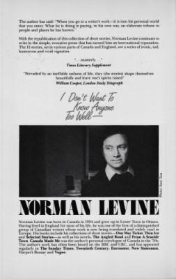 Norman Levine 2