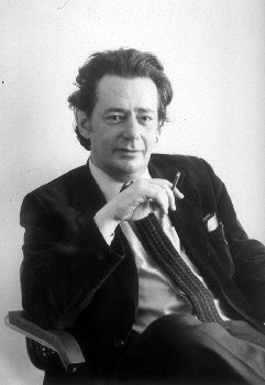 Mordecai Richler (photo by Martha Kaplan) from Canadian Encyclopedia