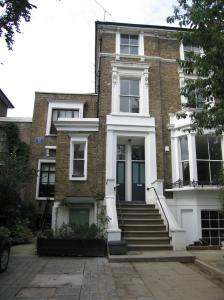 11 Parkhill Road, Hampstead where Richler family lived @1960 (photo D Martens)