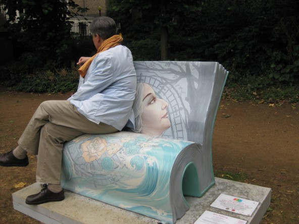 Clarissa Dalloway bench