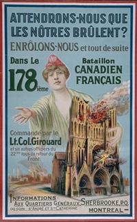 Recruiting Poster, Canadian War Museum  CWM AN 19900348-031