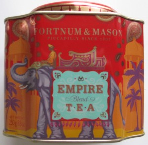 Fortnum & Mason Empire tea tin