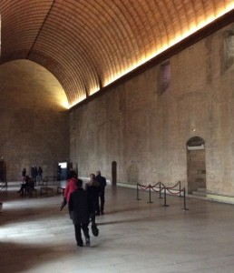 Grand Tinel banquet hall, Palais des Papes, Avignon