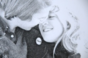 Peter and Beth in 1976
