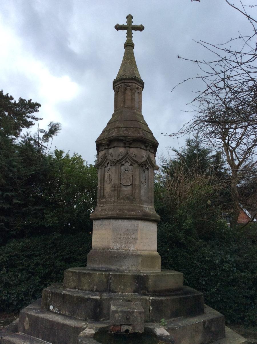 Greville well monument, Ashtead