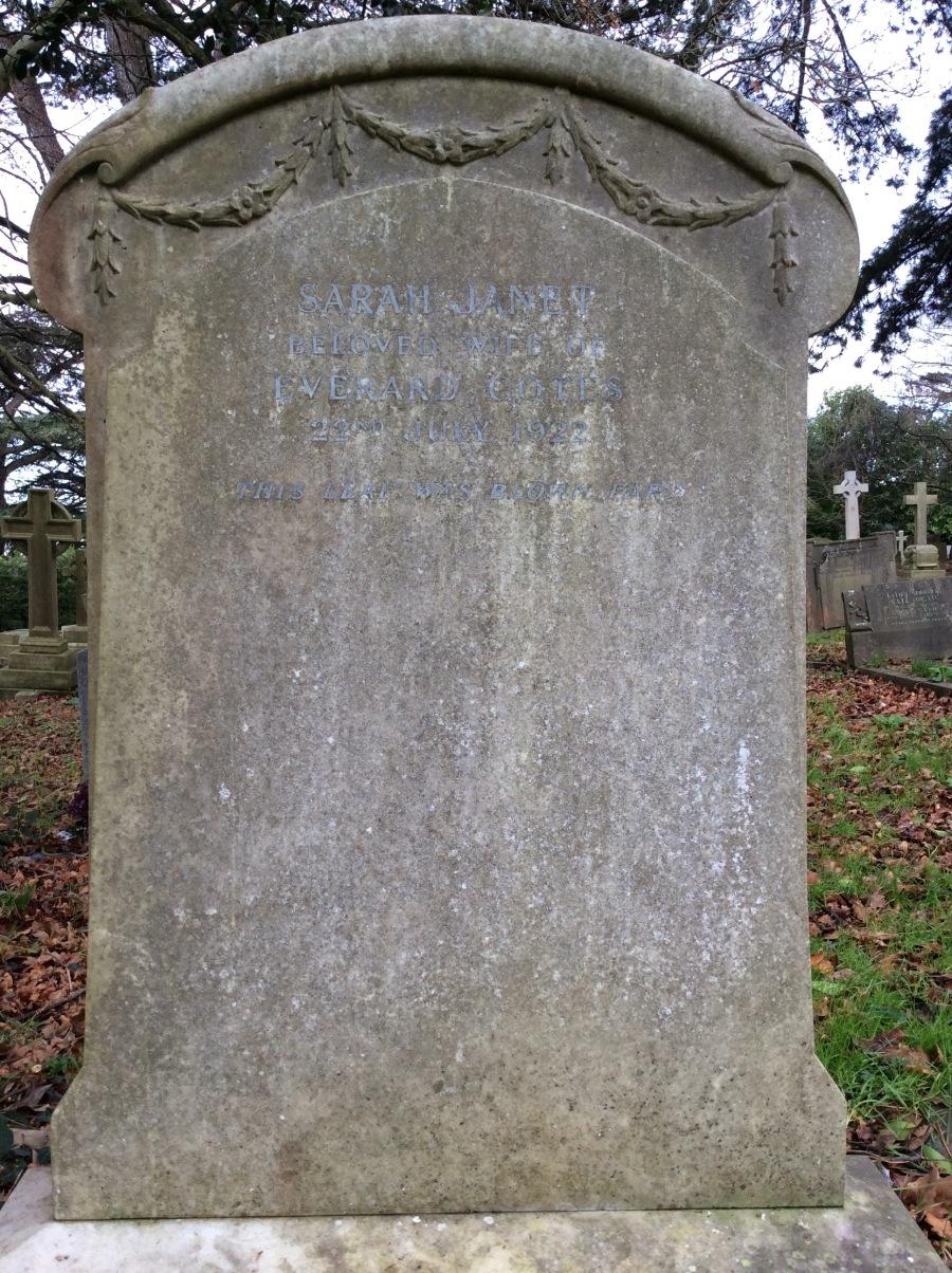 Duncan tombstone