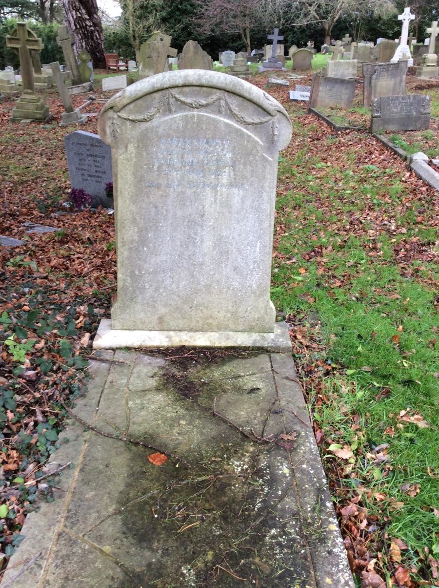 Sara Jeannette Duncan tombstone