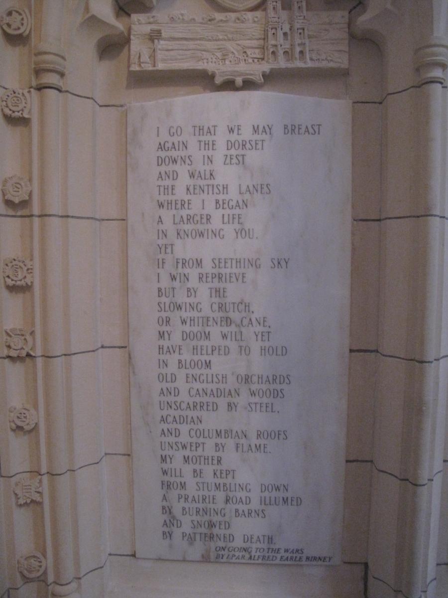 Earle Birney poem