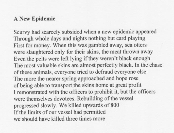 Sutherland new epidemic